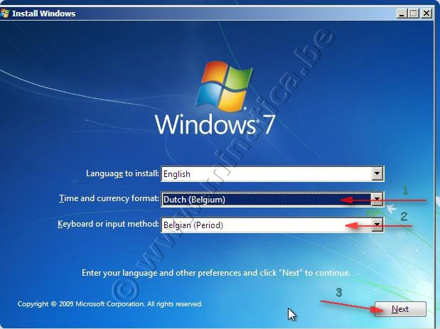 how to delete vista prmium and install windows 7